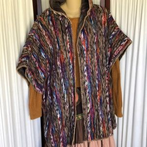 Absolutely unique Free People poncho wrap